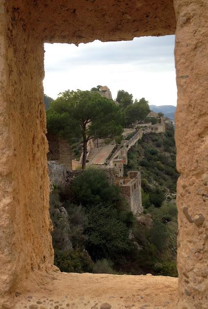 recorrido por el castillo de Xátiva en Valencia