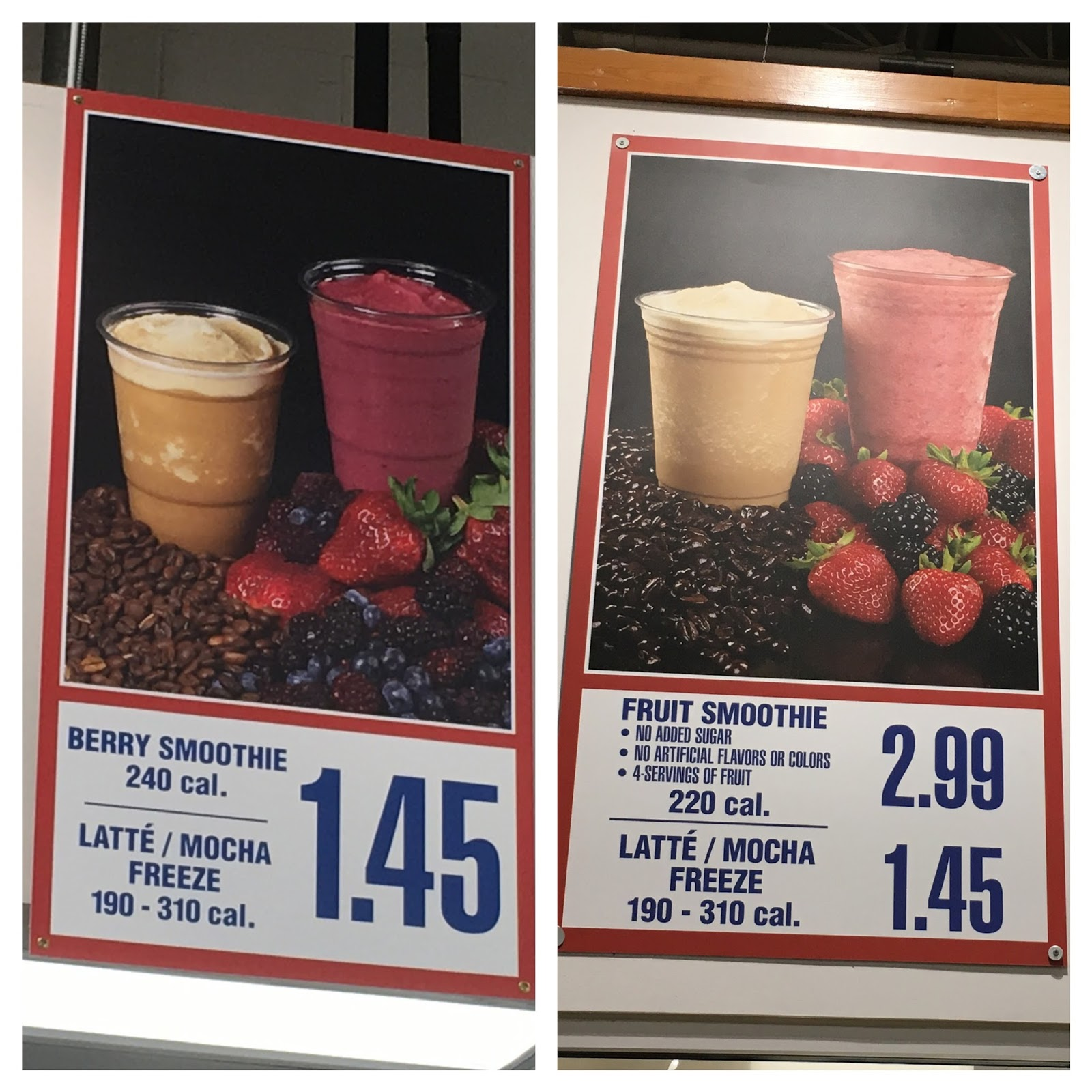 the Costco Connoisseur: Costco Berry Smoothie v  the New