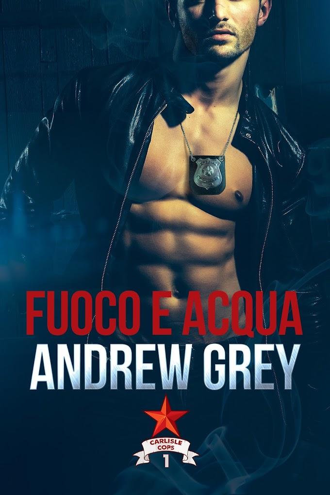 """Libri in uscita: """"Fuoco e acqua"""" (Serie Carlisle Cops #1) di Andrew Grey"""