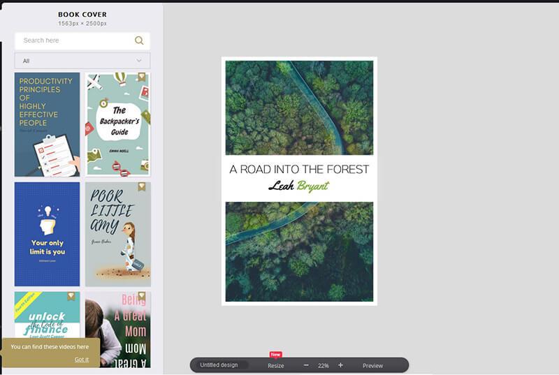 Cover ebook Fotor