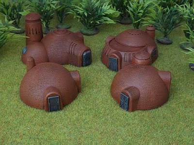 New 10mm Sci Fi Buildings by Brigade Models