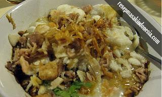Resep Bubur Ayam Bunut Sukabumi