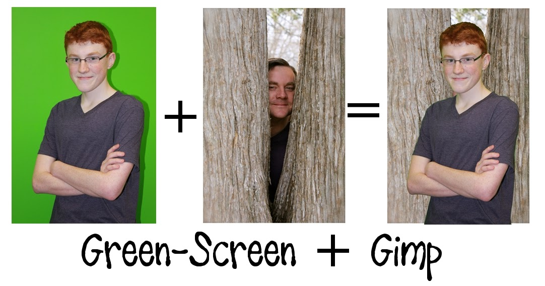 Diary Of A Techie Chick Removing A Green Screen As Easy As 1 2 3 With Gimp