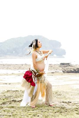 沖縄ベリーダンスマタニティフォト