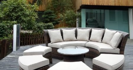 Facetoface Round Outdoor Couch