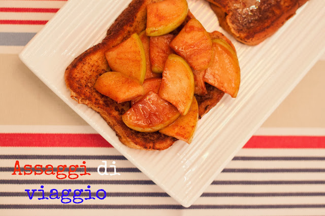 American Breakfast: French toasts