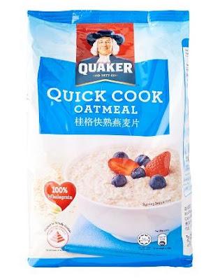 Harga Quaker Quickcook Oatmeal Terbaru 2017