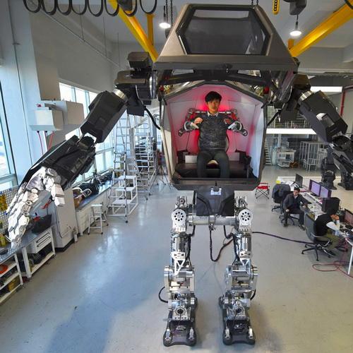 Tinuku Hankook Mirae Robotics Technology officially announced Method-2 Avatar giant robot mimicked human pilot