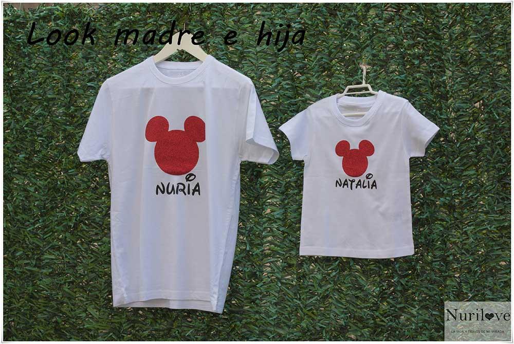 Look para ir vestidas iguales la amatxu y la princesa de la casa, la protagonista una camiseta de lo más especial