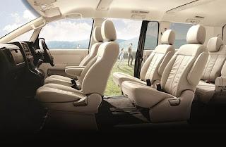 Interior Mitsubishi Delica Royal