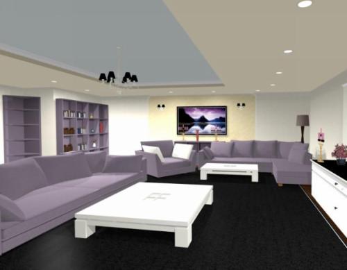 Design interior living casa moderna Pitesti - Design Interior / Amenajari Interioare