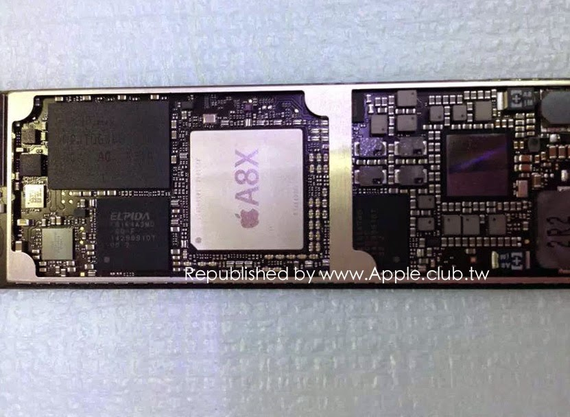 New circuit board photo reiterates iPad Air 2 may have faster A8X