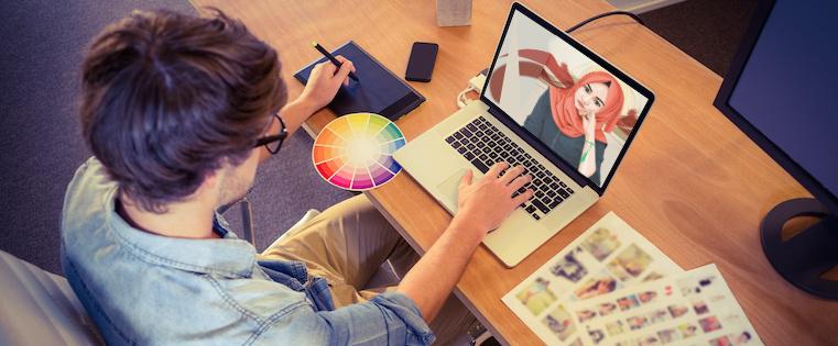 Adobe Photoshop CS4 : Tutorial Vector Belajar Pen Tool Photoshop