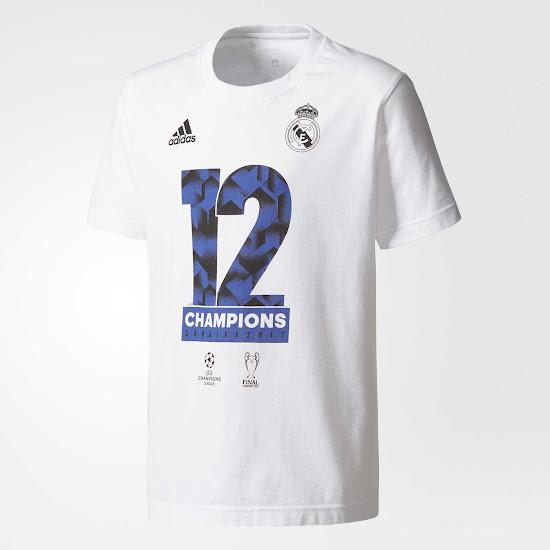 Camiseta Real Madrid duodécima