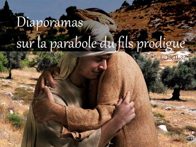 Diaporamas : la parabole du fils prodigue