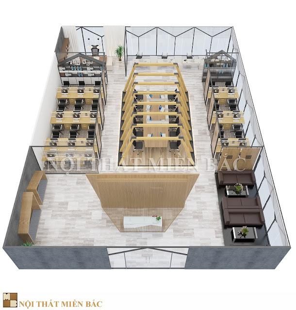 Để tạo nên một thiết kế nội thất phòng làm việc chuyên nghiệp, ấn tượng thì việc lựa chọn nội thất rất quan trọng
