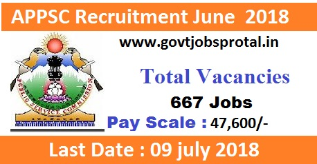 Government Jobs in AP for 650+ PGT, TGT Posts through APPSC