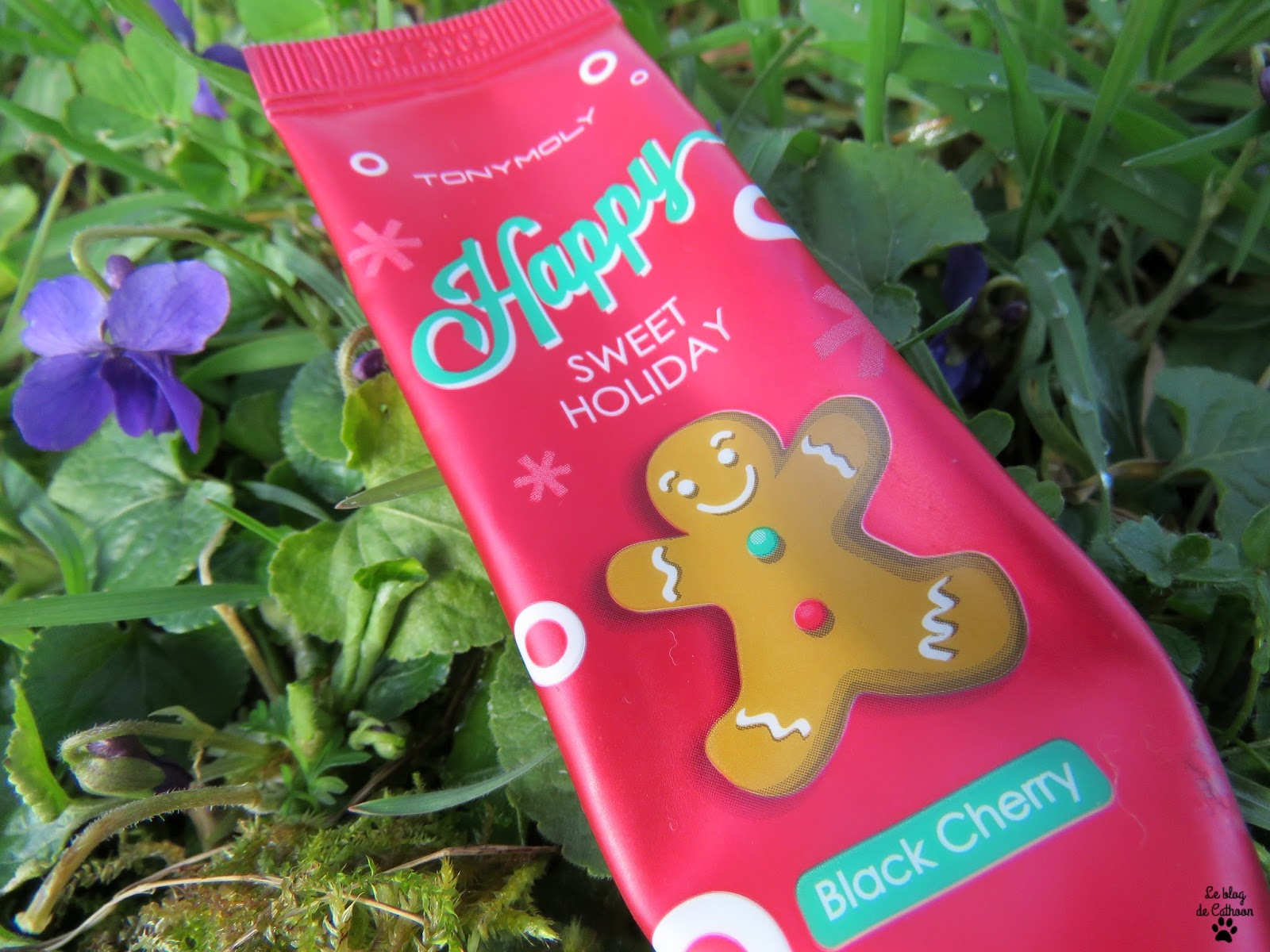 Happy Sweet Holiday - Black Cherry - Crème pour les Mains - Tony Moly
