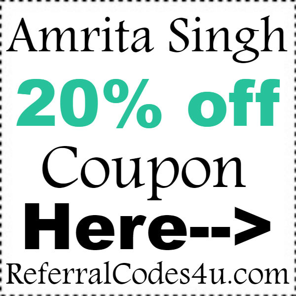 Amrita Singh Jewelry Loyalty Program, Amrita Singh Coupon Codes October, November, December