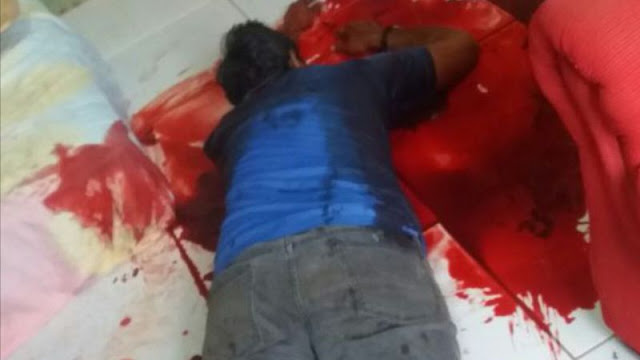 Pai esfaqueia a filha e depois tenta se matar em Porto Velho
