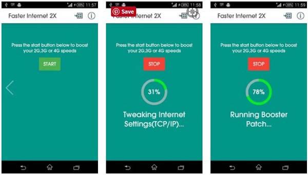Aplikasi Faster Internet 2X