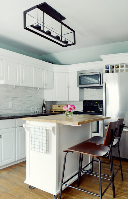 Before & After /// Our Budget Kitchen Makeover