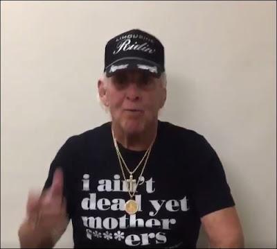 Ric Flair 'I Ain't Dead Yet...' T-Shirt