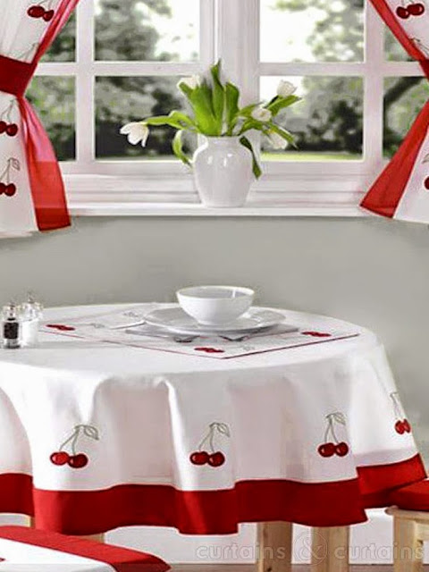 Elegant Kitchen Curtains 2