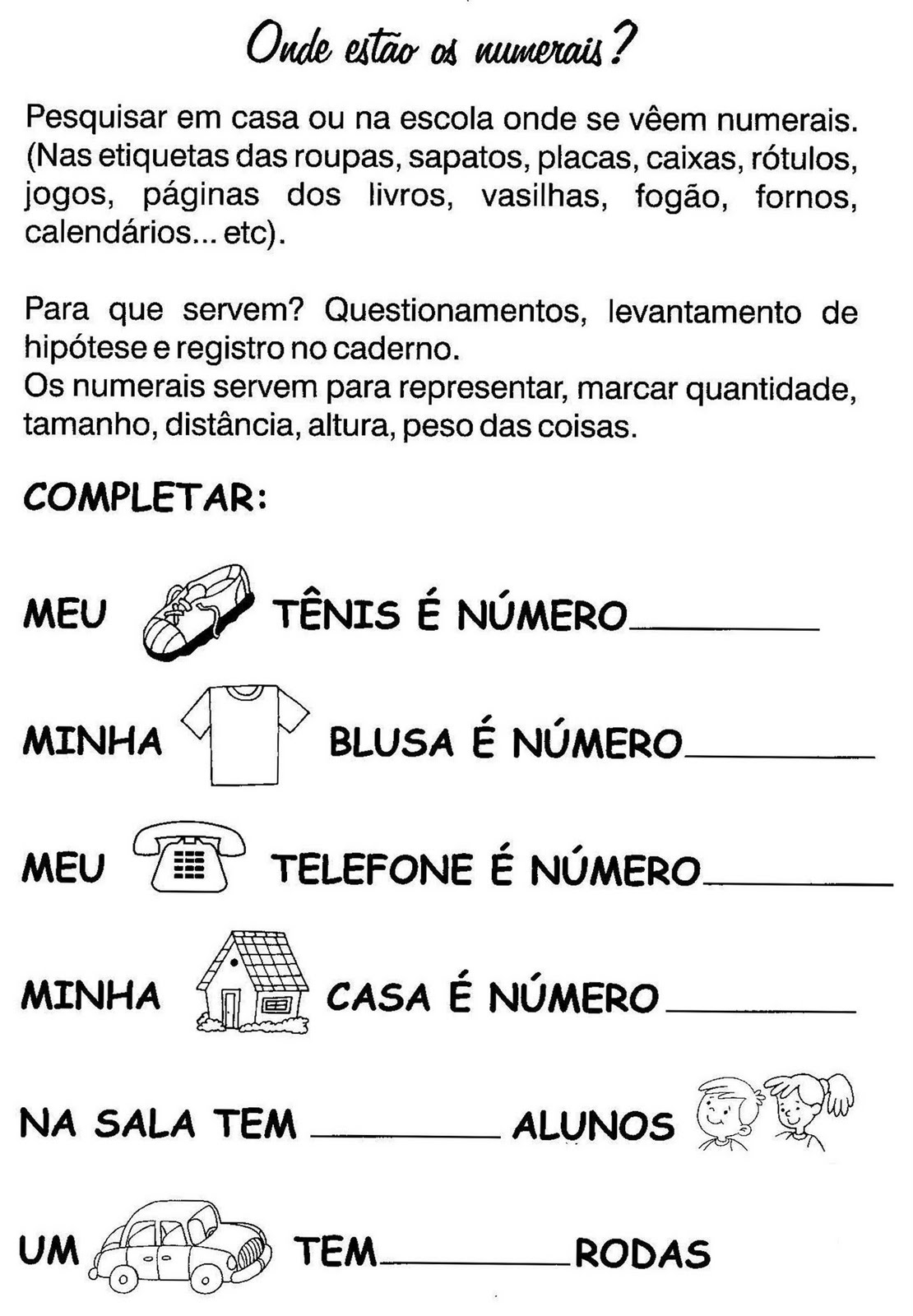 Blog Professor Zezinho Atividades De Matematica 2 Ano Para Imprimir