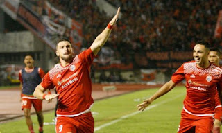 Persija ke Final Piala Presiden 2018 Usai Menang 1-0 atas PSMS