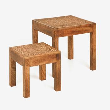 Decor me mobiliario auxiliar by zara home for Linea actual muebles europolis
