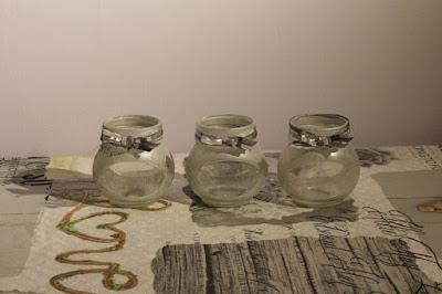 świeczniki ze słoiczków po dżemie DIY na Dzień Babci i Dziadka