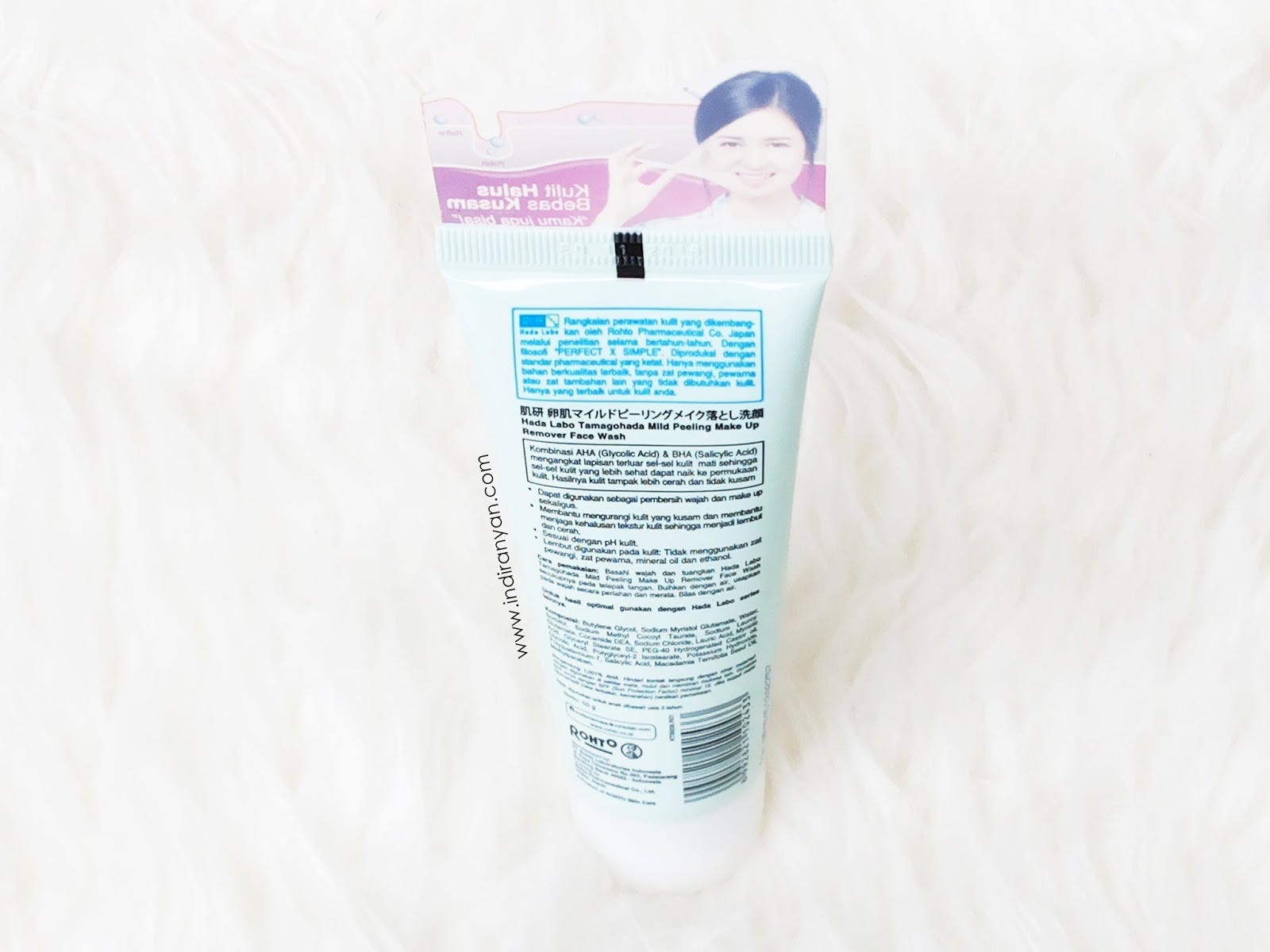 Hada-Labo-Tamagohada-Ultimate-Mild-Peeling-Face-Wash-Make-Up-Remover