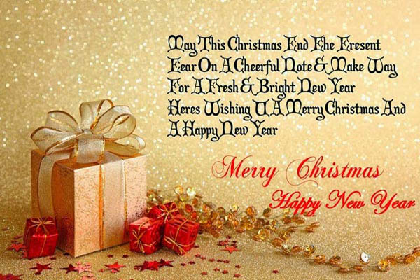 Advance Merry Christmas Message