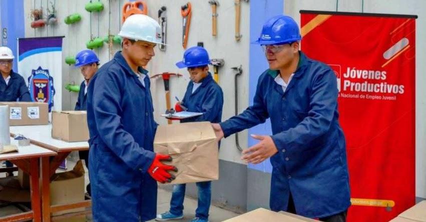 Ministerio de Trabajo ofrece a jóvenes becas de capacitación para operarios de producción
