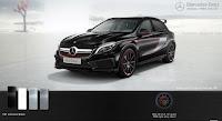 Mercedes AMG GLA 45 4MATIC Edition 1 2016 màu Đen Cosmos 191