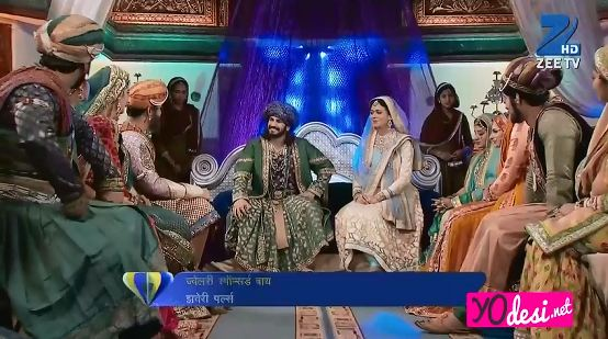 Jodha Akbar Episode 543--544 Update on Thursday 14th December 2017