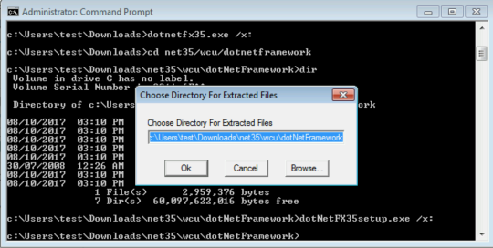 The OptionKey Blog: How to Install  NET framework 3 5 on
