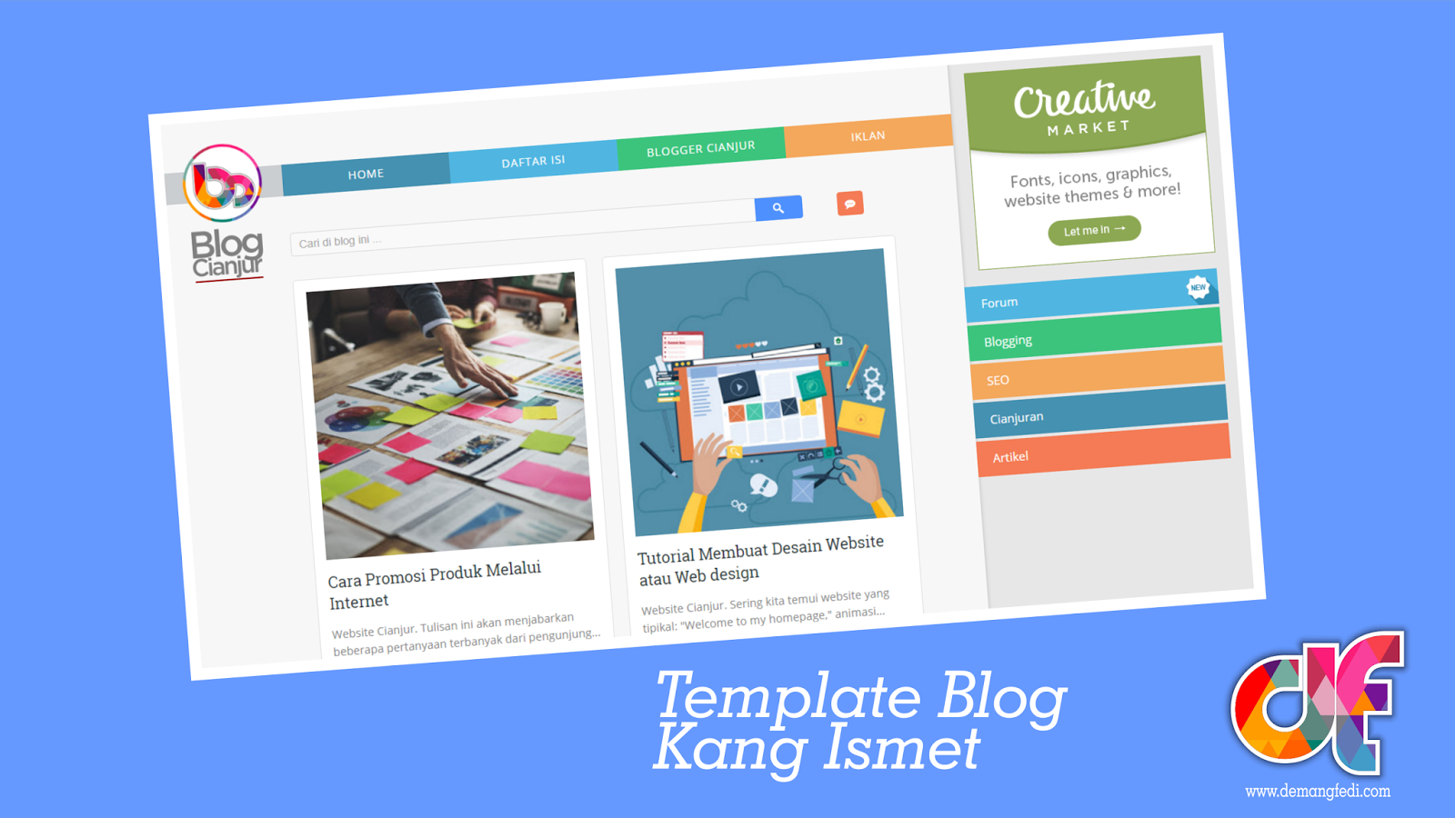 Template Blog Kang Ismet