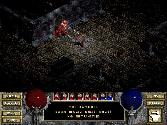 Diablo 1 Blizzard Captura de pantalla 10