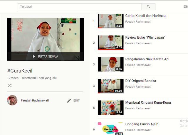 kolaborasi video bersama anak didik