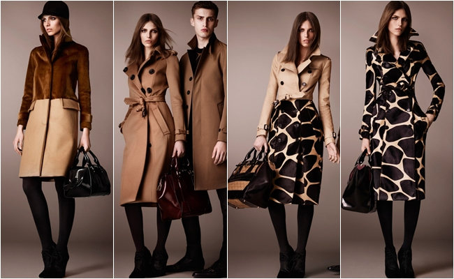 pre-fall 2013 chic looks Burberry Prorsum