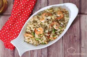 Resep - Nasi Goreng Udang Brokoli Ini Bikin Acara Kumpul Keluarga Makin Akrab