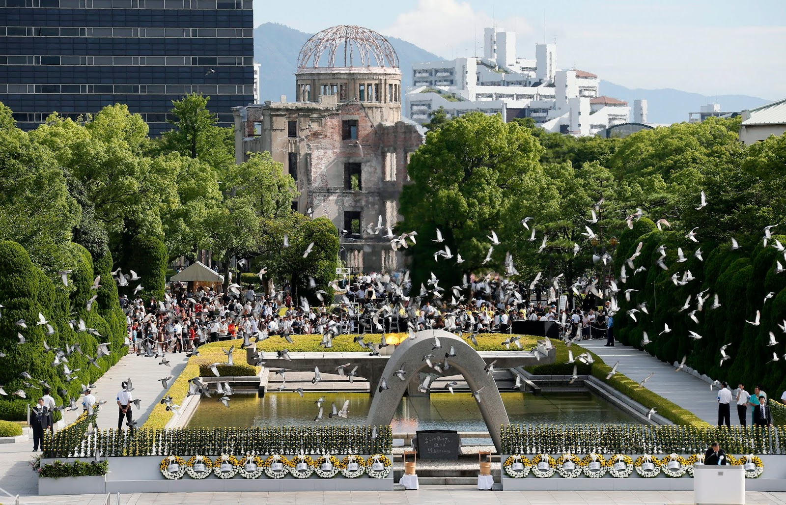 Hiroshima conmemora el 75º aniversario del ataque nuclear reclamando la abolición de estos arsenales