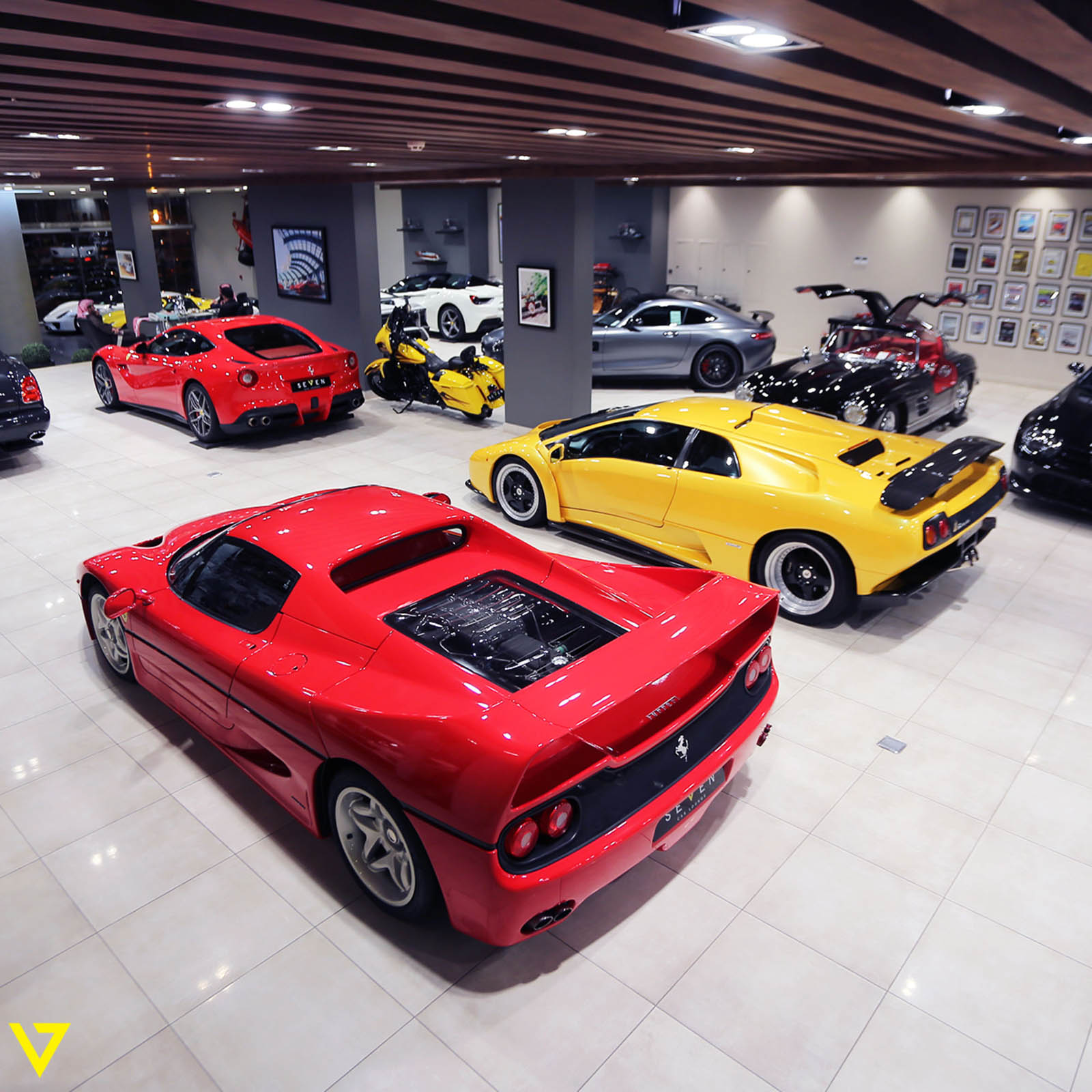 Auto Ferrari: Saudi Dealership Has All Four Of Ferrari's Flagship