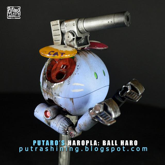 Haropla: Ball Haro Custom Weathering by Putra Shining
