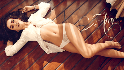 Amy Jackson Hot And Sexy Wallpaper Download