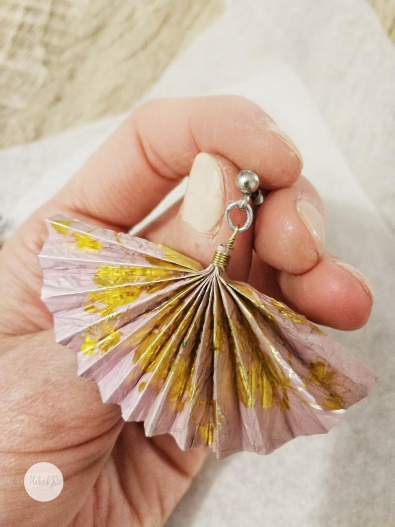Diy korvakorut korvikset örhängen återvinning kierrätys