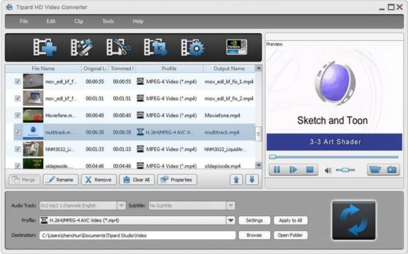 free portable software download: Tipard HD Video Converter