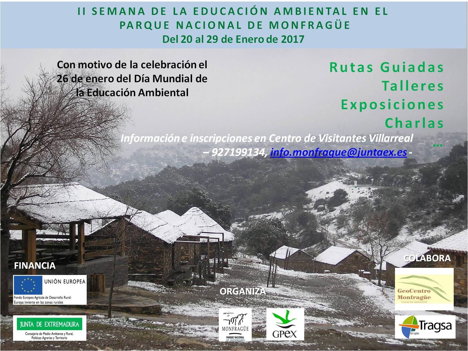 Casa rural del corral parque nacional de monfrag e ii semana educaci n ambiental - Casa rural monfrague ...